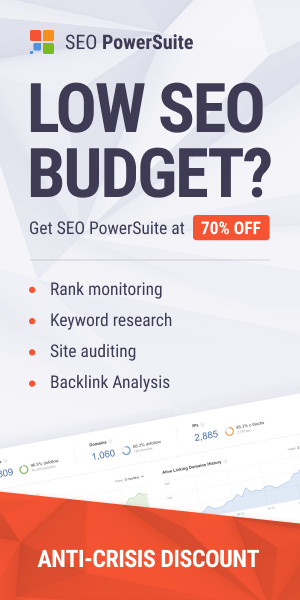 SEO PowerSuite Summer Offer