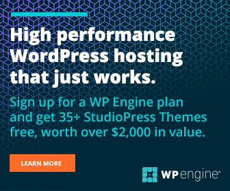 WP Engine Banner