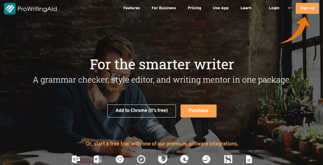 ProWritingAid Discount Page