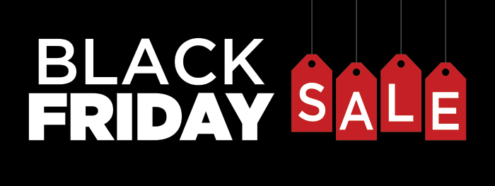 Black Friday Sidebar Banner
