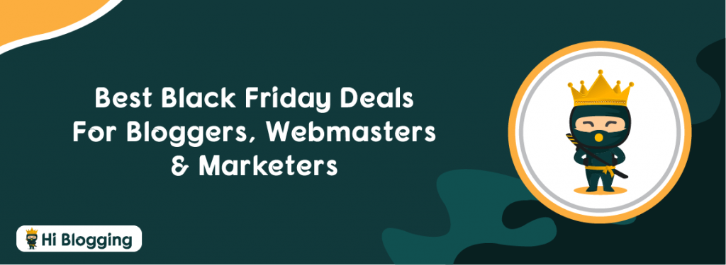 Best Black Friday deals for bloggers