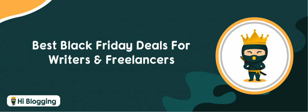 Best Black Friday Deals For Writers