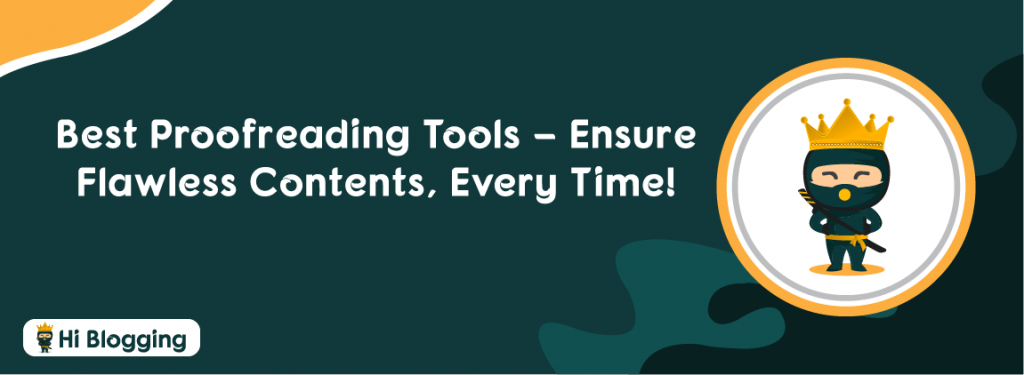 Best Proofreading Tools