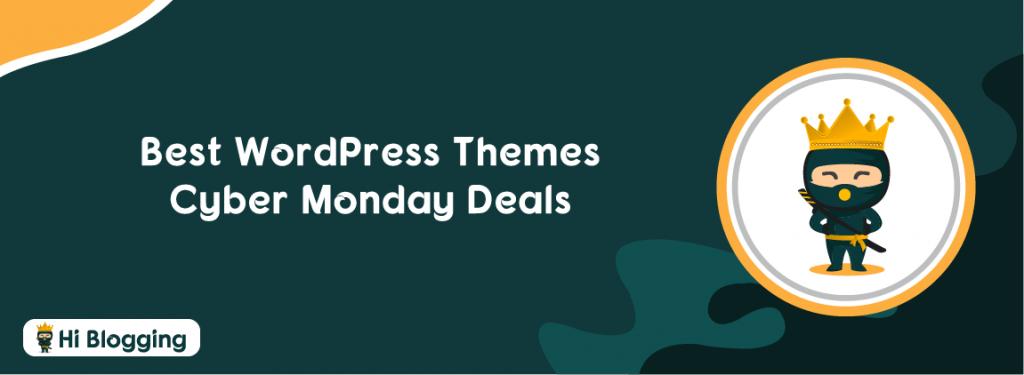 Best WordPress Themes Cyber Monday Deals