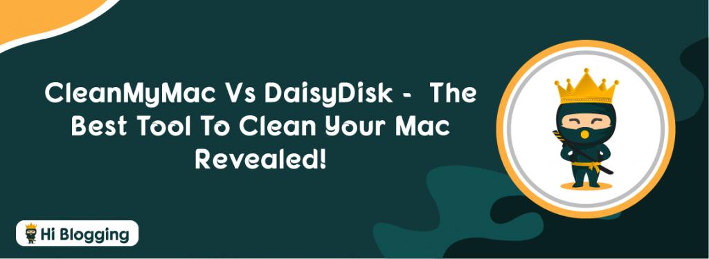 CleanMyMac Vs DaisyDisk