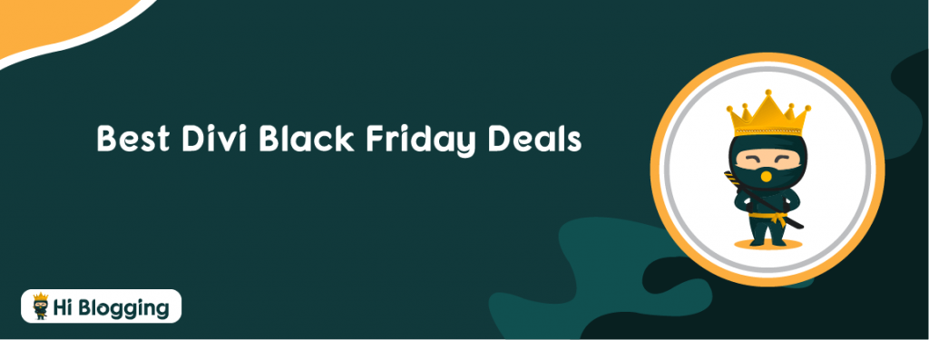 Divi Black Friday deals