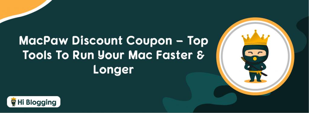 MacPaw Discount Coupon
