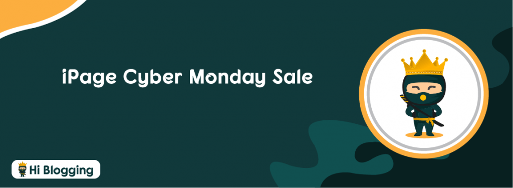 iPage Cyber Monday Sale